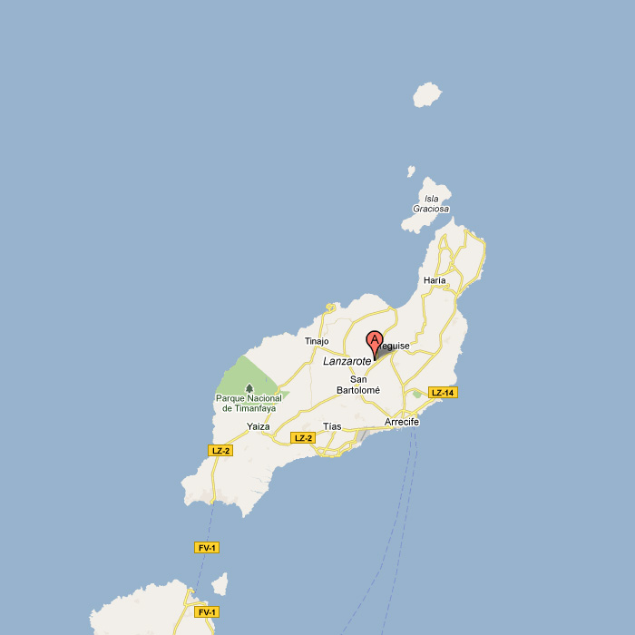 Apartment Finder Map: Find Self Catering Lanzarote