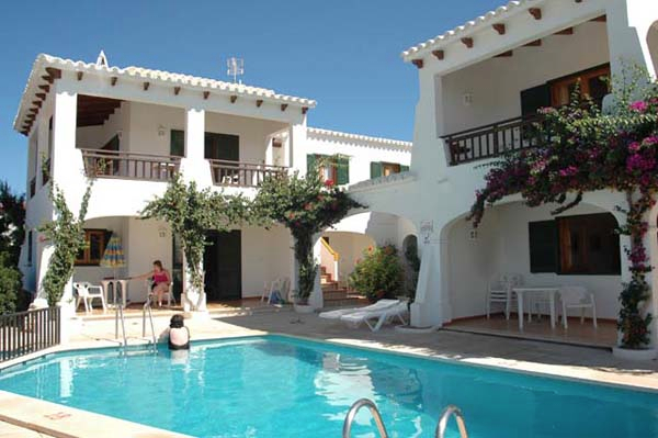 Apartments in Menorca, with sea view